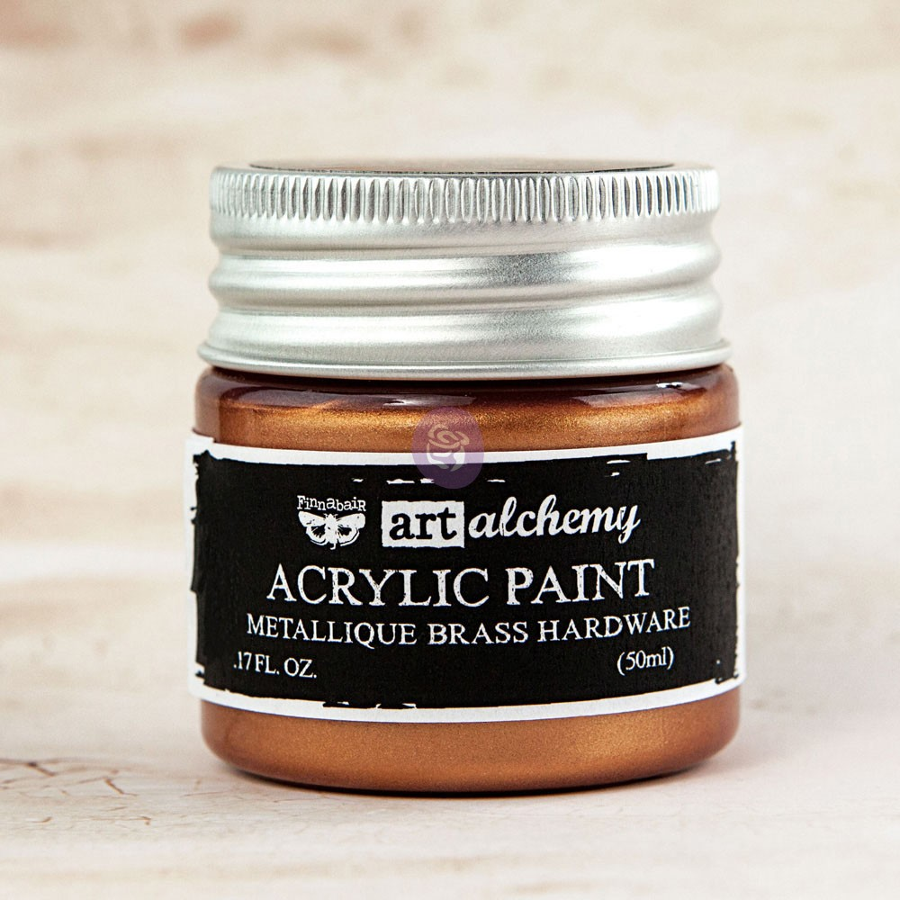 Art Alchemy-Acrylic Paint-Metallique Bronze 1.7oz