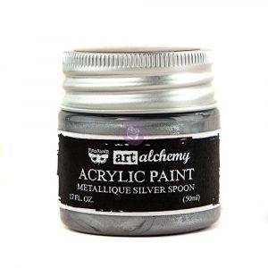 Art Alchemy-Acrylic Paint-Metallique Silver 1.7oz