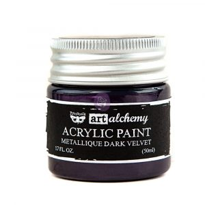 Art Alchemy-Acrylic Paint-Metallique Violet 1.7oz