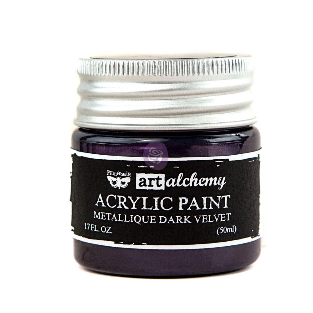 Art Alchemy-Acrylic Paint-Metallique Violet 1.7oz