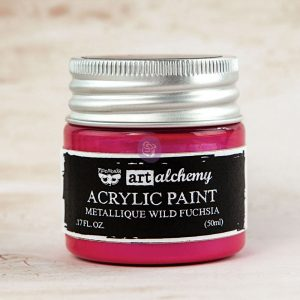 Art Alchemy-Acrylic Paint-Metallique Magenta 1.7oz