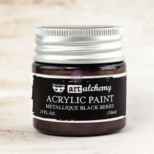 Art Alchemy-Acrylic Paint-Metallique Eggplant 1.7oz