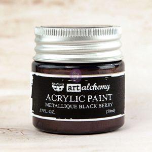 Art Alchemy-Acrylic Paint-Metallique Eggplant 1.7oz
