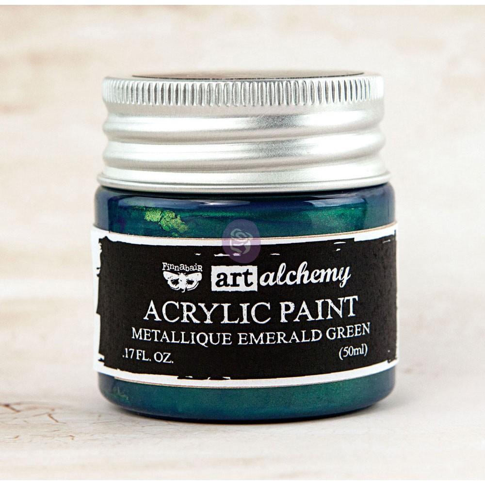 Art Alchemy-Acrylic Paint-Metallique Teal 1.7oz