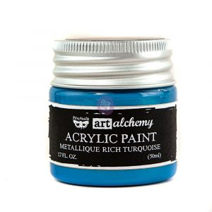 Art Alchemy-Acrylic Paint-Metallique Light Blue 1.7oz