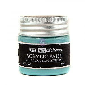 Art Alchemy-Acrylic Paint-Metallique Light Turquoise 1.7oz