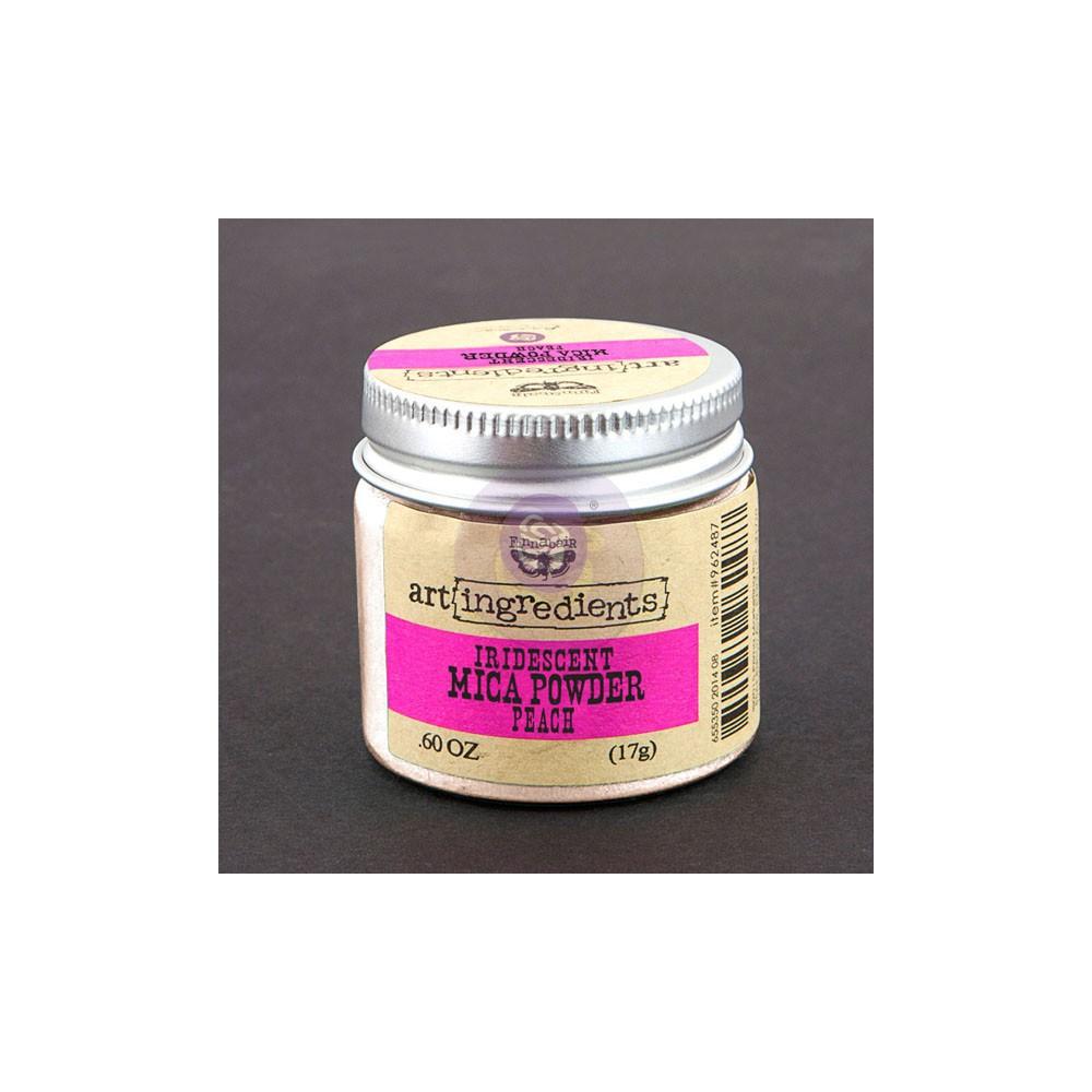 Art Ingredients-Iridescent Mica Powder: Peach Opal Magic 17g