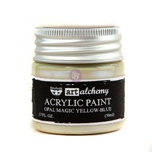 Art Alchemy: Acrylic Paint - Opal Magic Yellow-Blue 1.7oz