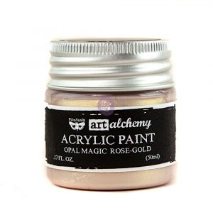 Art Alchemy: Acrylic Paint-Opal Magic Rose-Gold 1.7oz