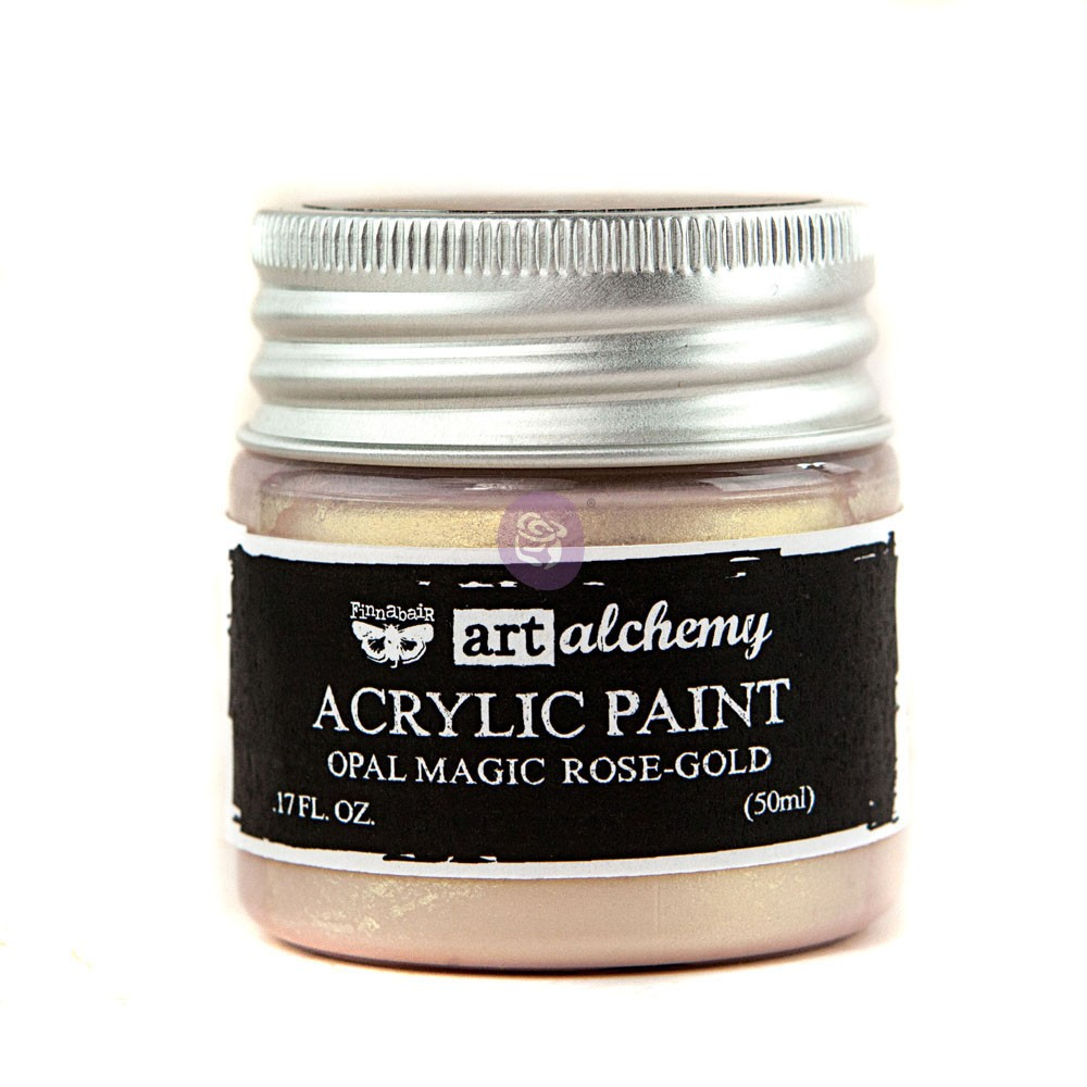 Art Alchemy: Acrylic Paint-Opal Magic Rose-Gold 1.7oz
