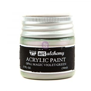 Art Alchemy: Acrylic Paint-Opal Magic Violet-Green 1.7oz