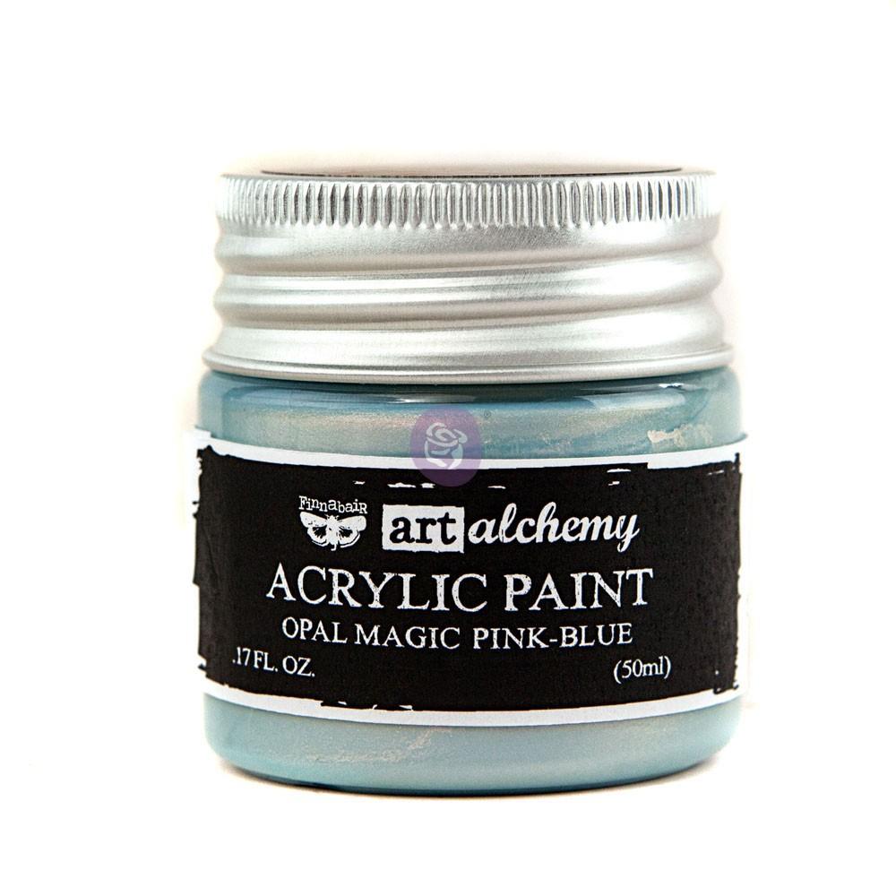 Art Alchemy: Acrylic Paint-Opal Magic Pink-Blue 1.7oz
