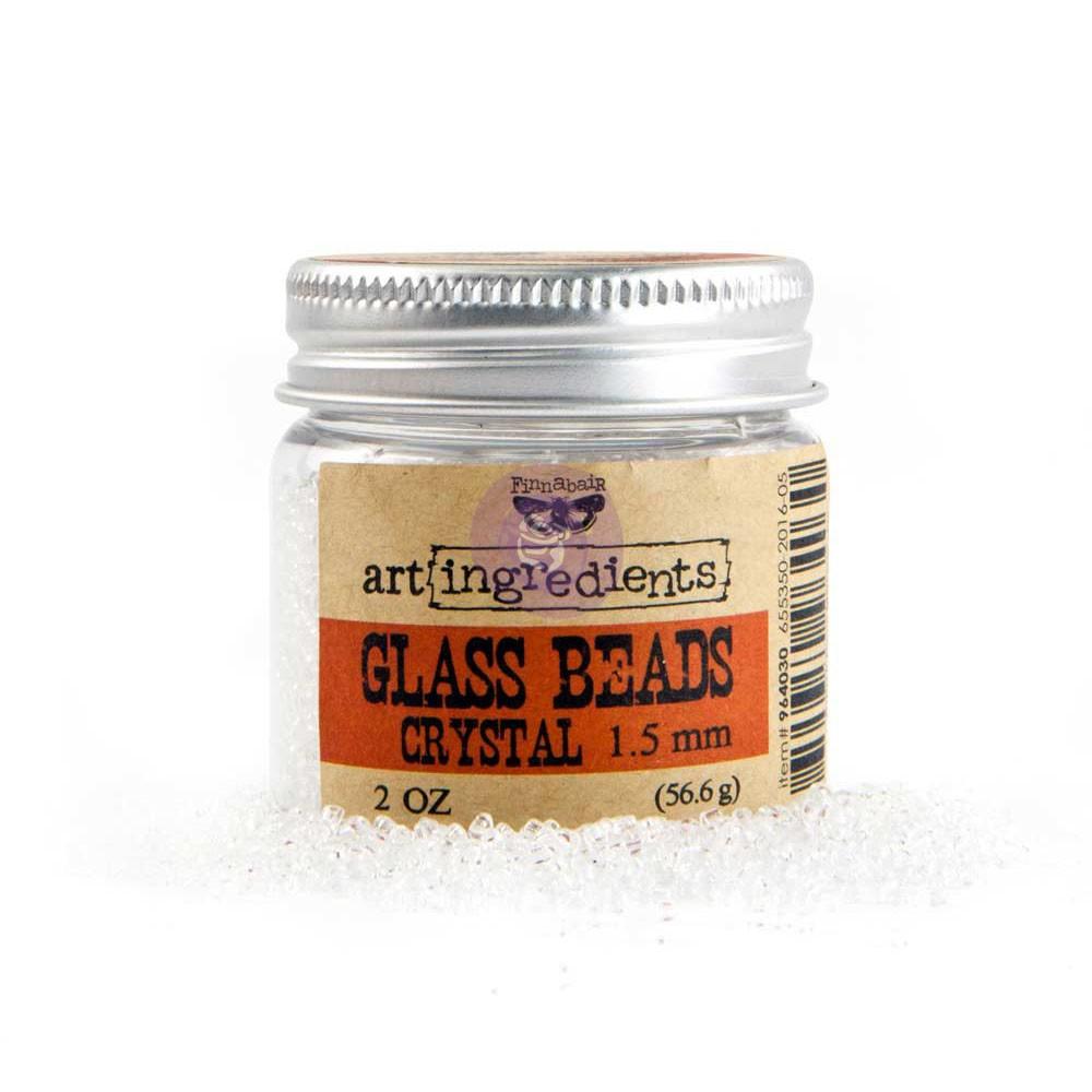 Art Ingredients - Glass Beads 1.5mm