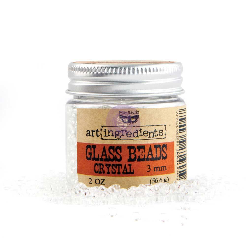 Art Ingredients - Glass Beads 3mm