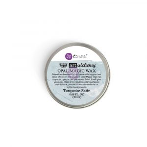 Art Alchemy-Opal Magic Wax-Turquoise Satin