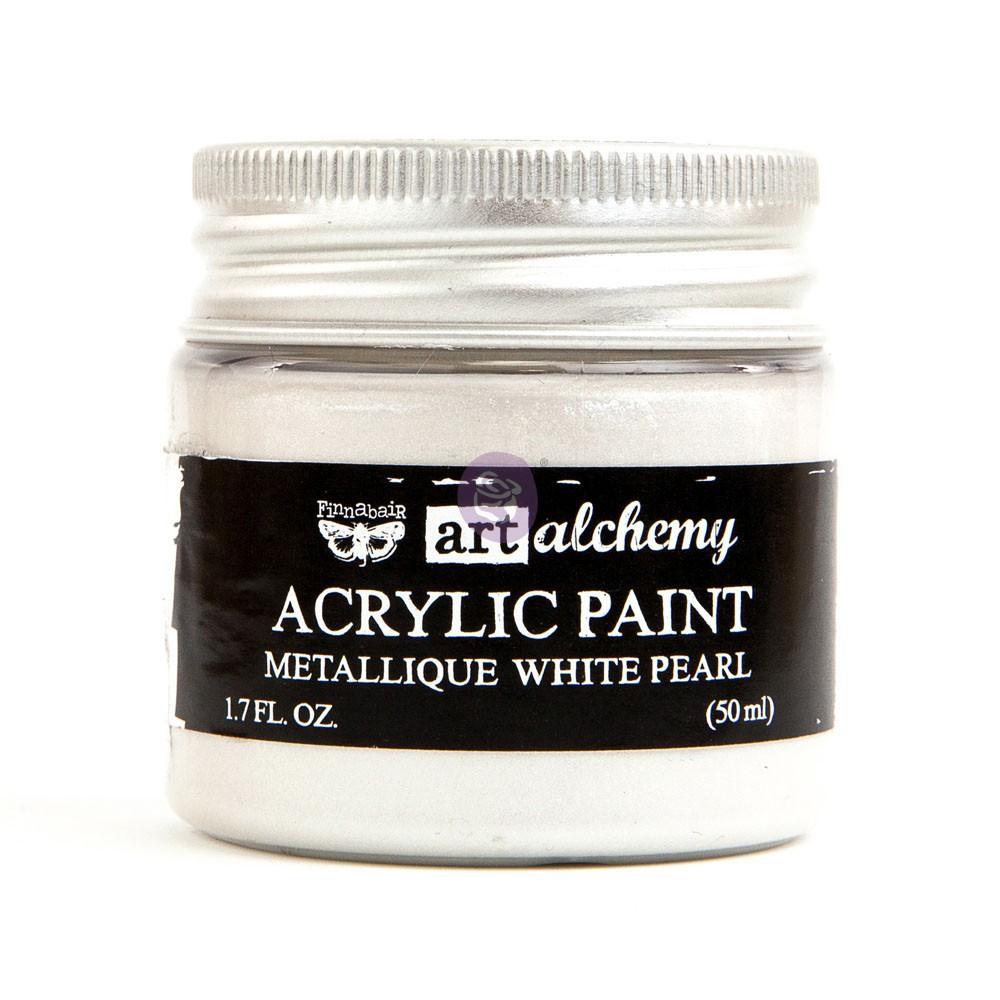 Art Alchemy - Metallique - White Pearl