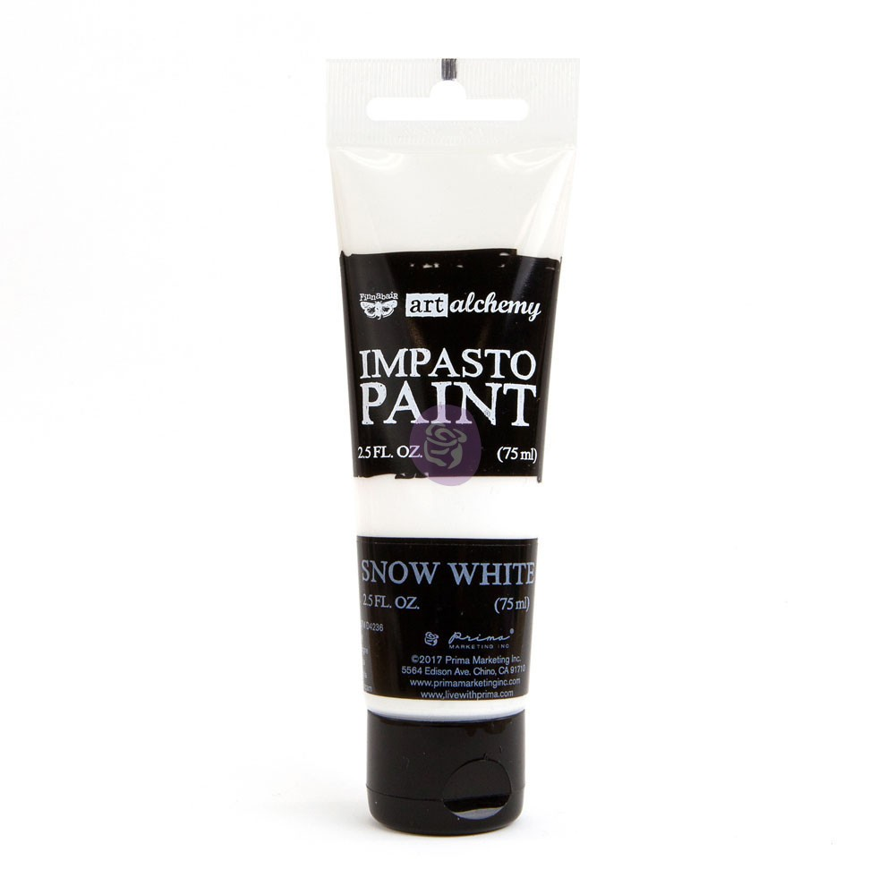 Art Alchemy - Impasto Paint - Snow White
