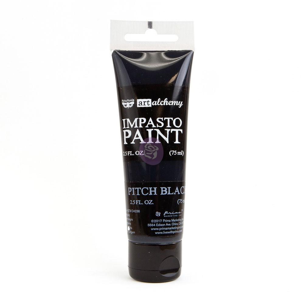 Art Alchemy - Impasto Paint - Pitch Black