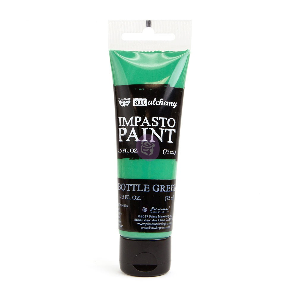 Art Alchemy - Impasto Paint - Bottle Green