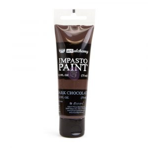 Art Alchemy - Impasto Paint - Dark Chocolate