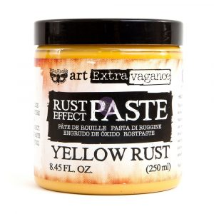 Art Extravagance - Rust Paste - Yellow