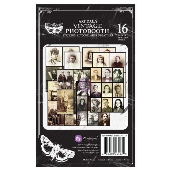 Art Daily Planner Sticker Pad - Vintage Photobooth