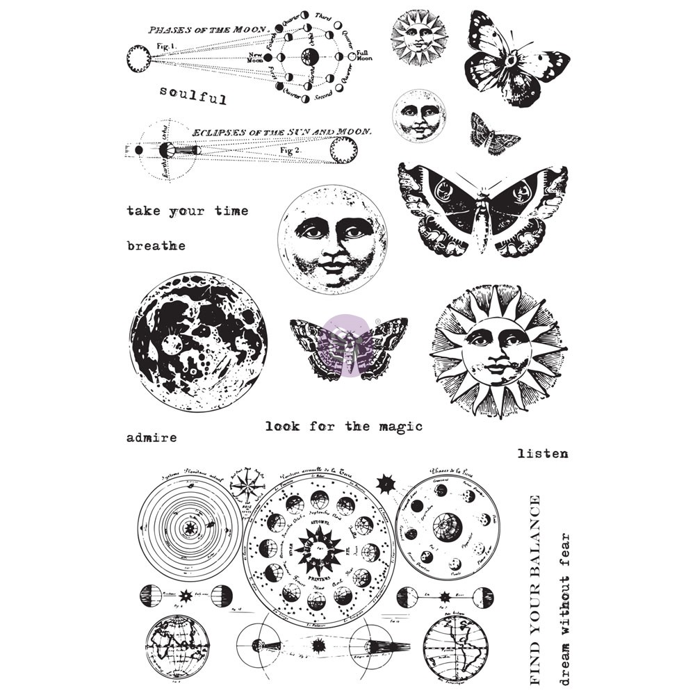Art Daily Planner Cling Stamps - Dream Without Fear
