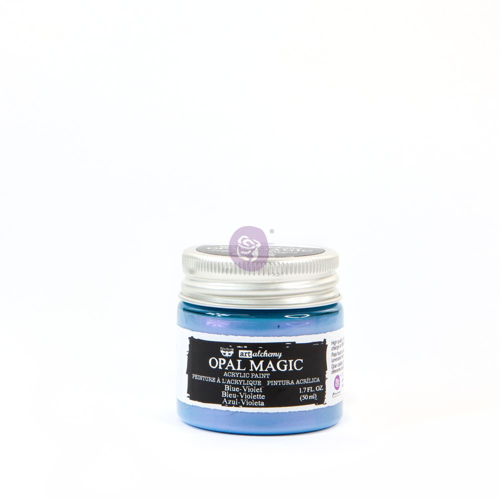 Art Alchemy-Opal Magic Acrylic Paint -Blue -Violet