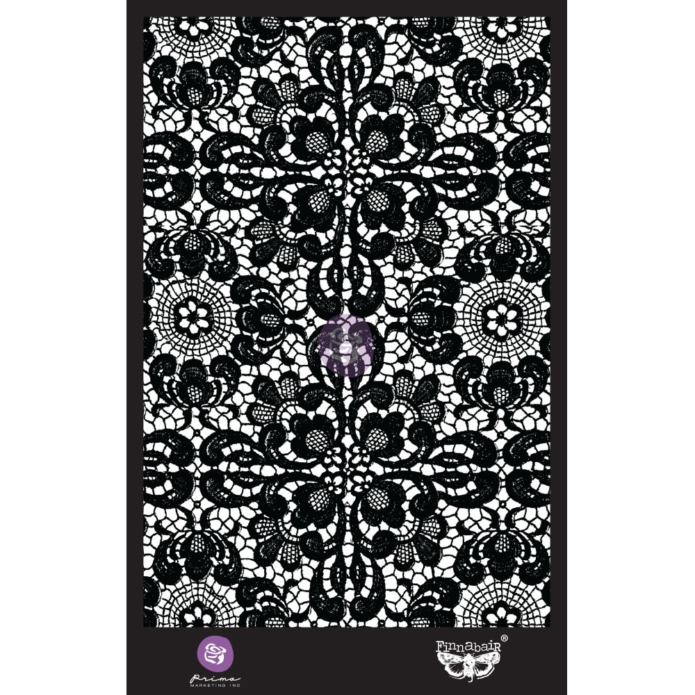 6x9 Stencil - Ornate Lace