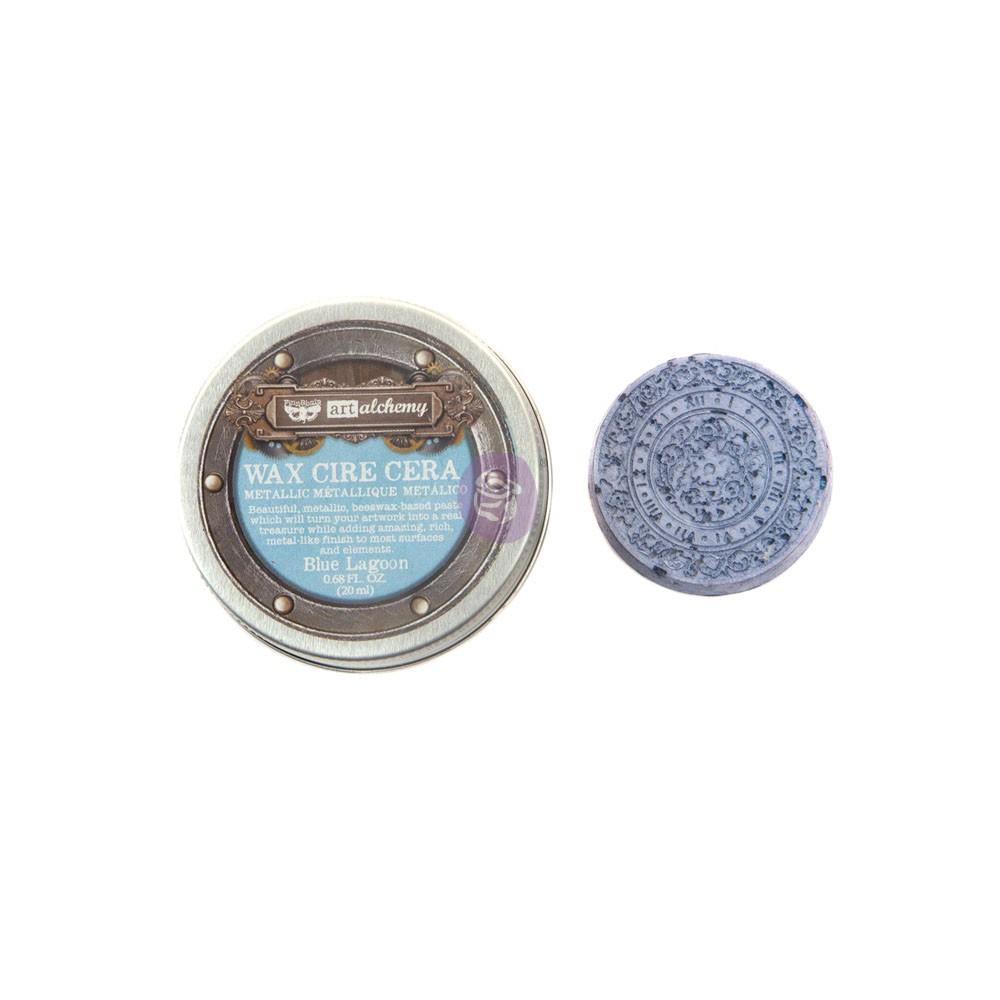 Finnabair Metallique Wax - Blue Lagoon