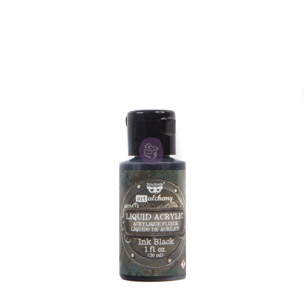 Art Alchemy-Liquid Acrylic Ink Black