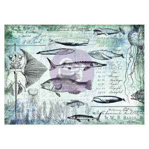 Art Daily - Decorative Paper - Nautical - 6 sheets, 70cm x 50cm