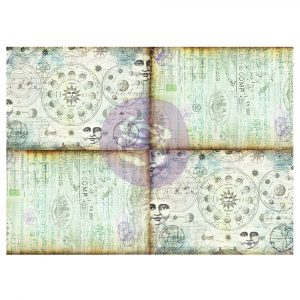 Art Daily - Decorative Paper Journaling Minis - Celestial Music - 6 sheets, 70cm x 50cm