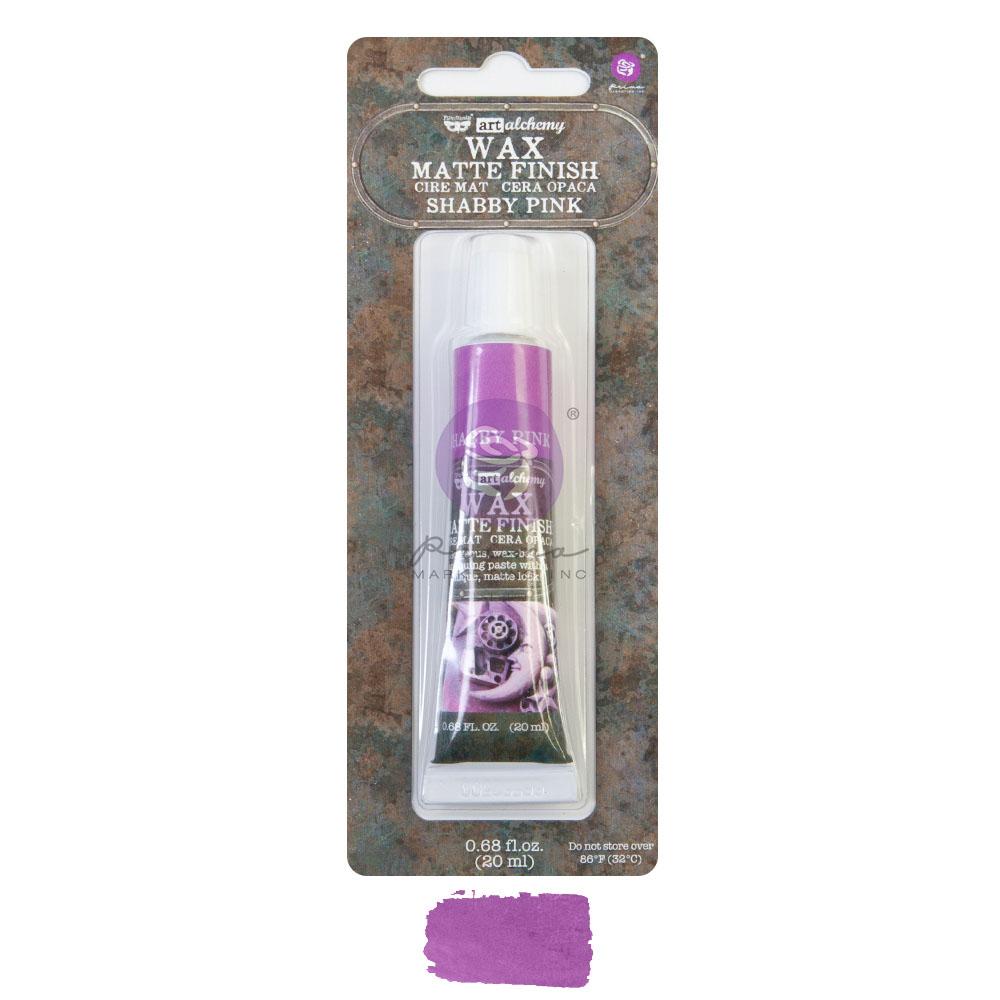 Art Alchemy - Matte Wax - Shabby Pink  - 1 tube, 20 ml