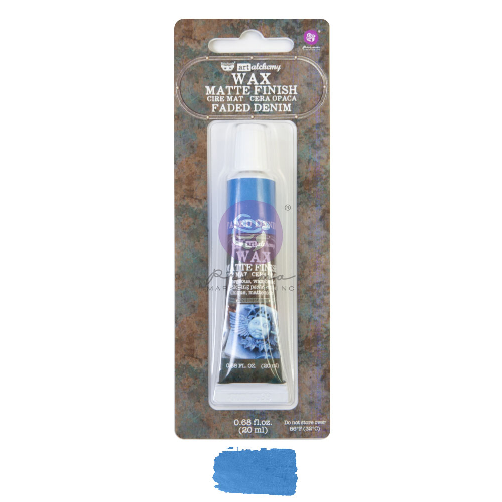 Art Alchemy - Matte Wax - Faded Denim  - 1 tube, 20 ml
