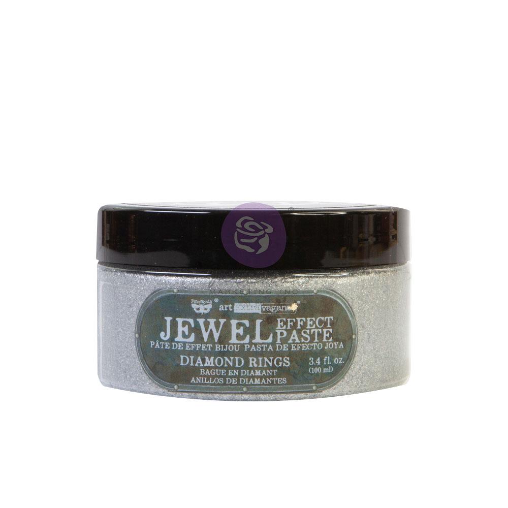Art Extravagance - Jewel Texture Paste - Diamond Rings - 1 jar, 100ml (3.4 fl oz)