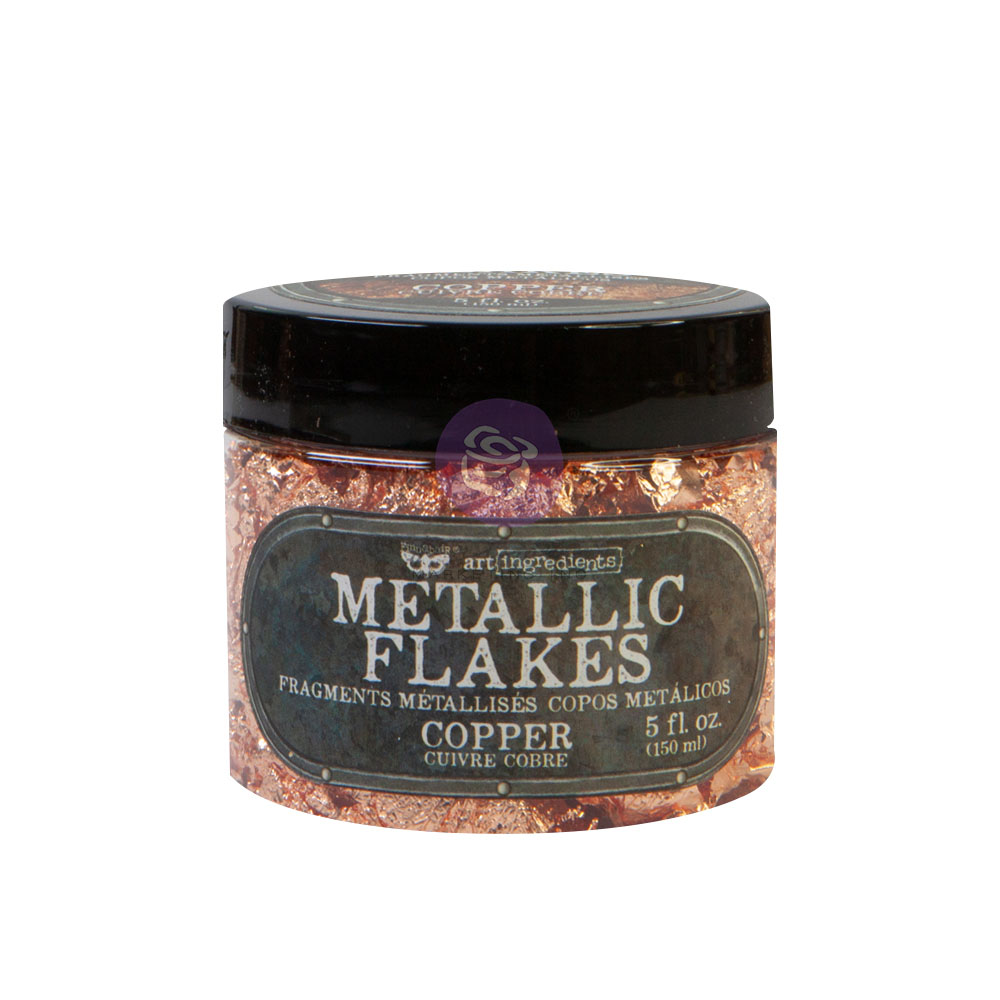 Art Ingredients - Metal Flakes - Copper - 1 jar, total weight 30g including container