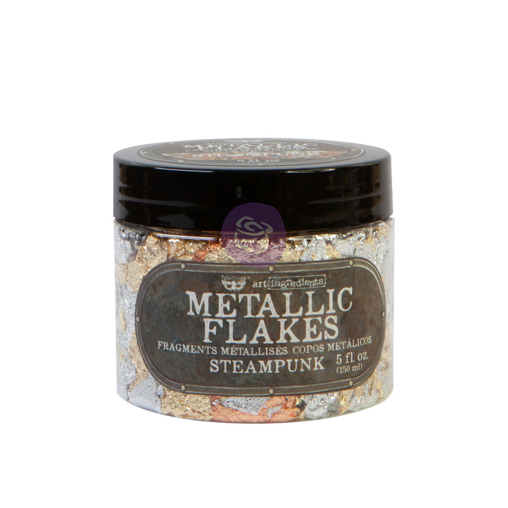 Art Ingredients - Metal Flakes - Steampunk - 1 jar, total weight 30g including container