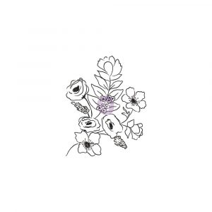 Christine Adolf Cling Stamp: 2