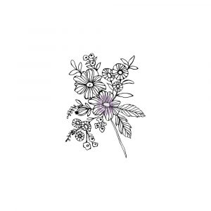 Christine Adolf Cling Stamp: 6