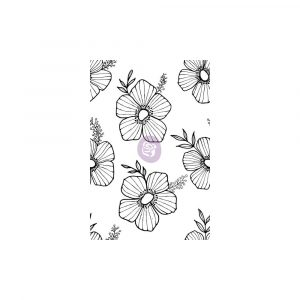 Christine Adolf Cling Stamp: 12