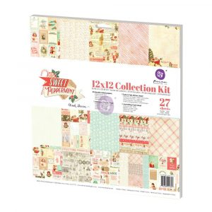 12x12 Collection Kit - Sweet Peppermint