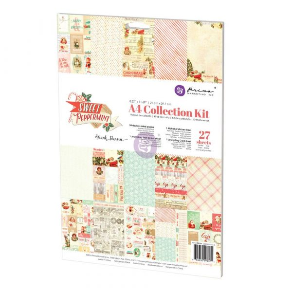 A4 Collection Kit - Sweet Peppermint