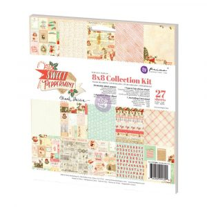 8x8 Collection Kit - Sweet Peppermint