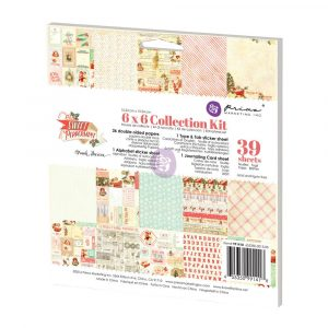 6x6 Collection Kit - Sweet Peppermint