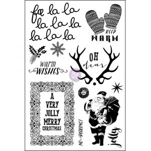 Cling Stamp - Sweet Peppermint