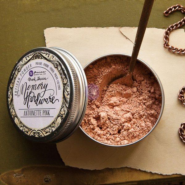 Memory Hardware Artisan Powder - Antoinette Pink