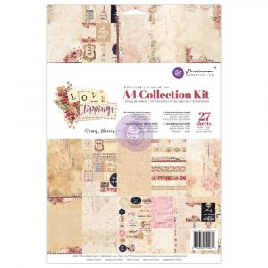 A4 Collection Kit - Love Clippings