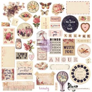 Chipboard & More - Love Clippings