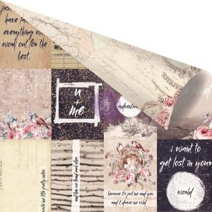 12 x 12 Wild & free - Pretty Little Notes